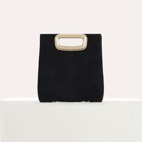 M Mini SKin Clutch aus Leder : M Tasche farbe Schwarz