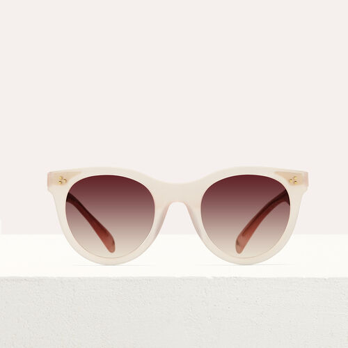 Sonnenbrille aus Acetat : See all farbe Rosa