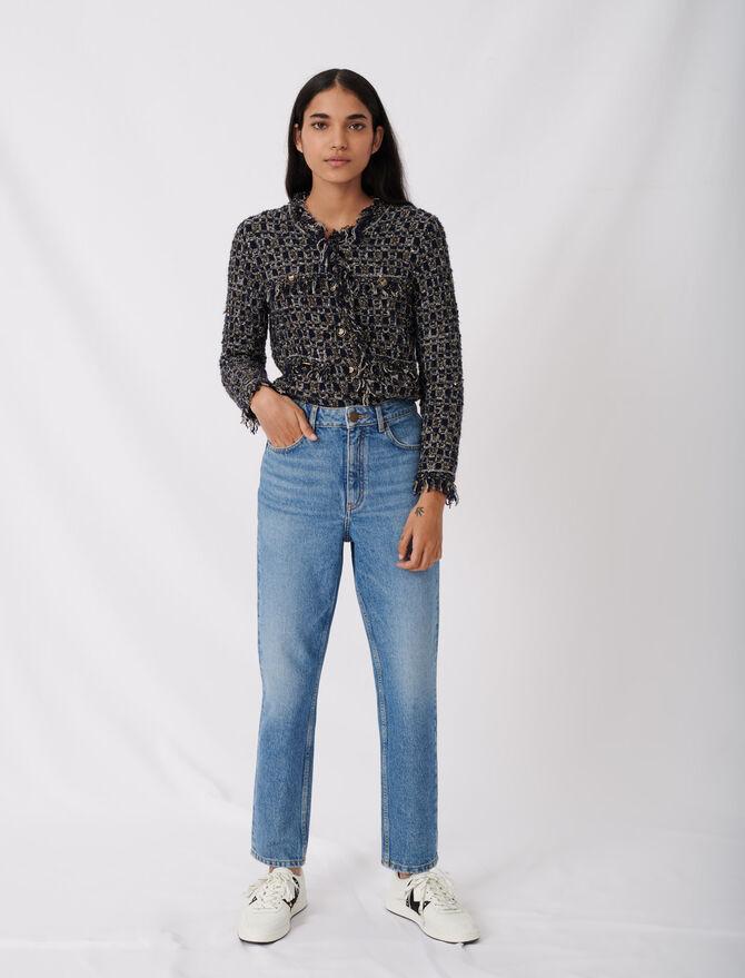 High-Waist Jeans - Umweltfreundliche - MAJE