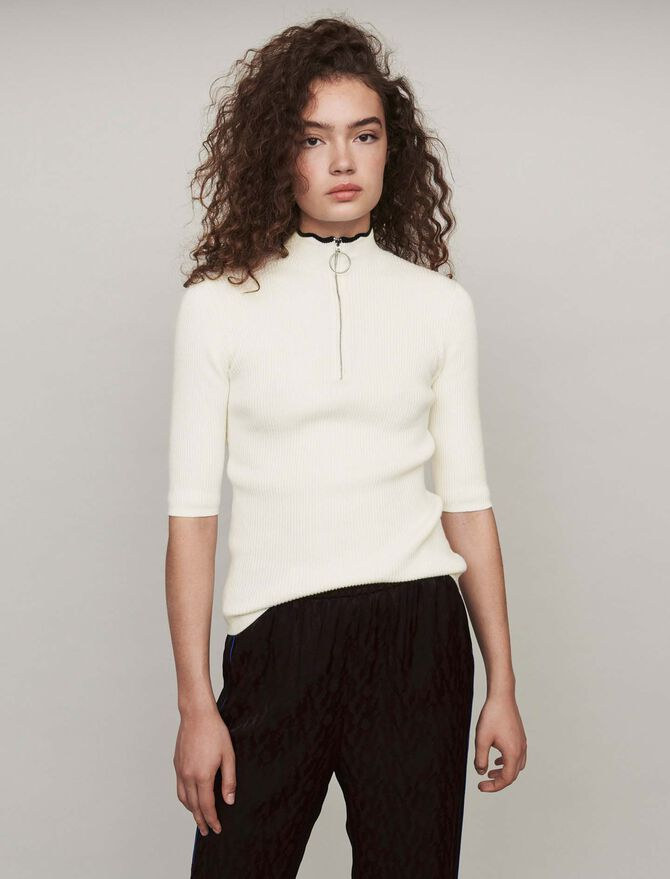 Feinstrick Pullover - Midseason-Sales_Maille_IE - MAJE
