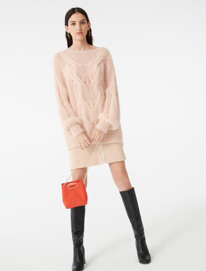 Pullover mit Zopfmuster - Pullover & Strickjacken - MAJE