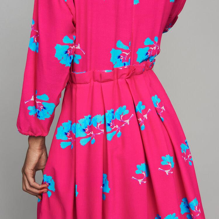 Kleid mit Trompe-l'œil-Effekt : Neue Kollektion farbe IMPRIME