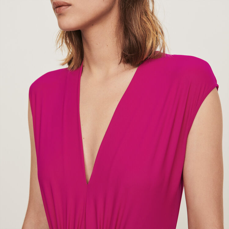 Stretch Body : T-Shirts farbe Violett