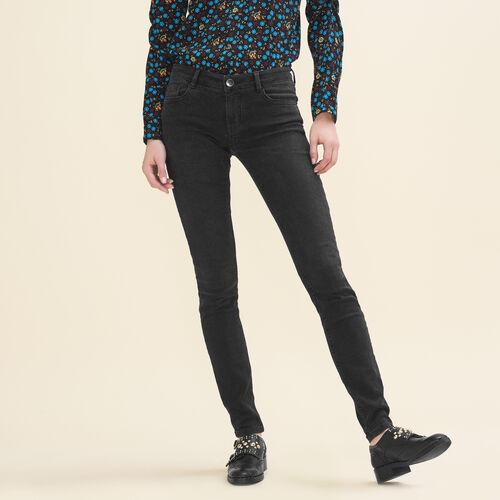 Skinny-Jeans aus Stretchbaumwolle - Jeans - MAJE