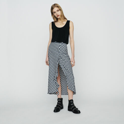Rock aus Vichy : Röcke & Shorts farbe CARREAUX