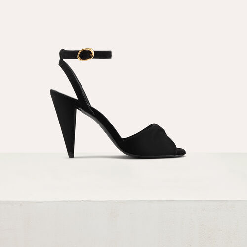 Leather high heals sandals : Pumps farbe Schwarz