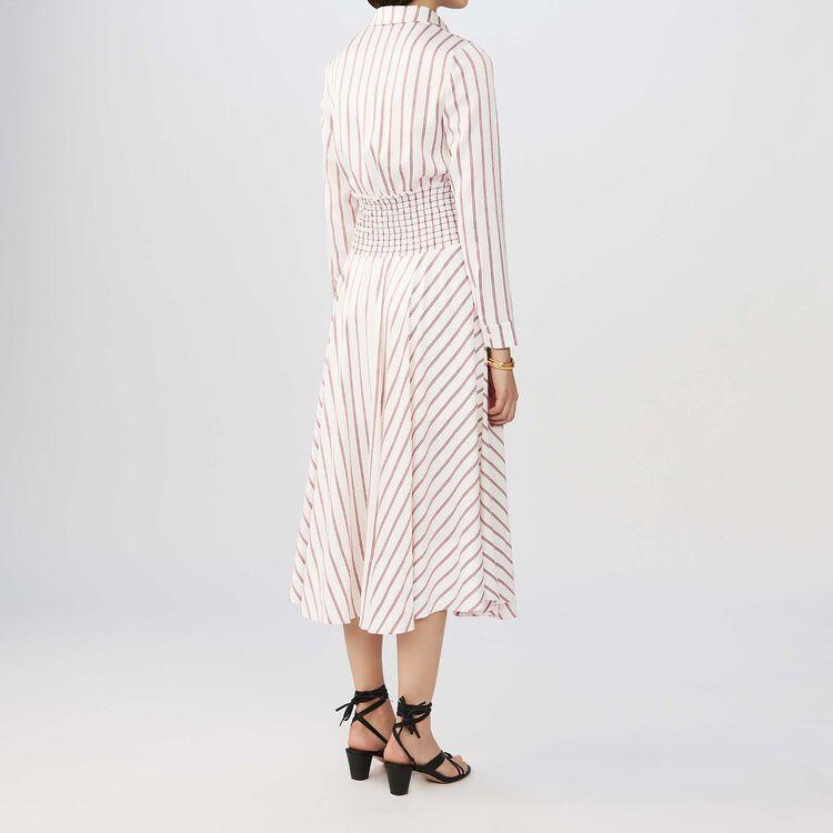 Gestreiftes Hemdkleid : Kleider farbe Gestreift