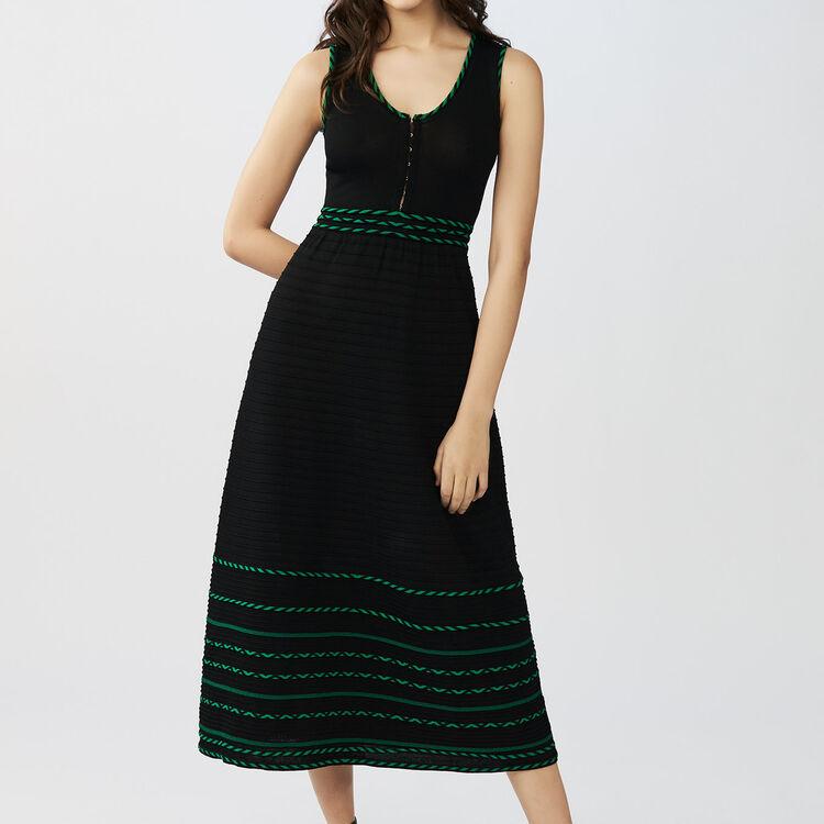 Bedrucktes Hemdkleid : Kleider farbe Schwarz