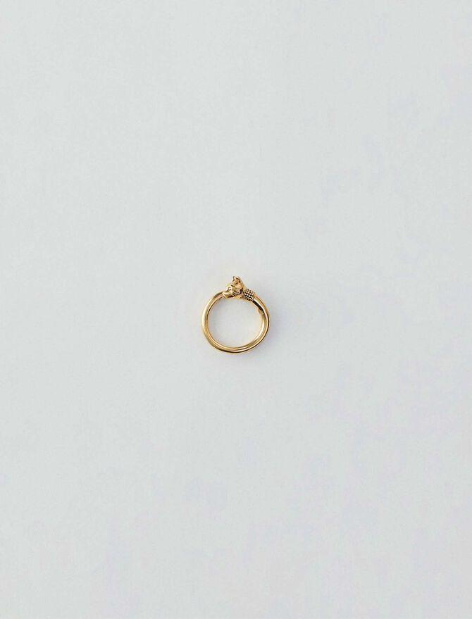 Cat ring - Schmuck - MAJE