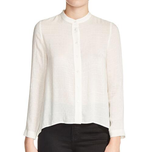 Bluse mit Knoten zurück : Exklusiv items farbe Ecru