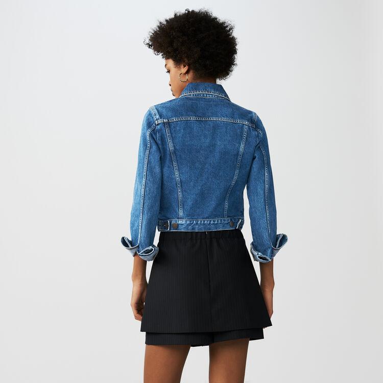 Short-Rock mit Tennisstreifen : Röcke & Shorts farbe Gestreift