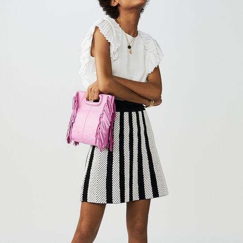 Kurze Lederjacke : Röcke & Shorts farbe Mehrfarbigen