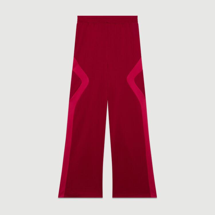Jogging-Hose : Hosen farbe Himbeerrot