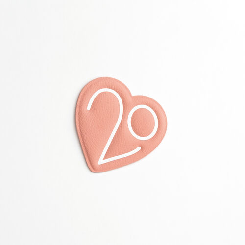 Patch X 20 jahre : Gadgets farbe Rosa