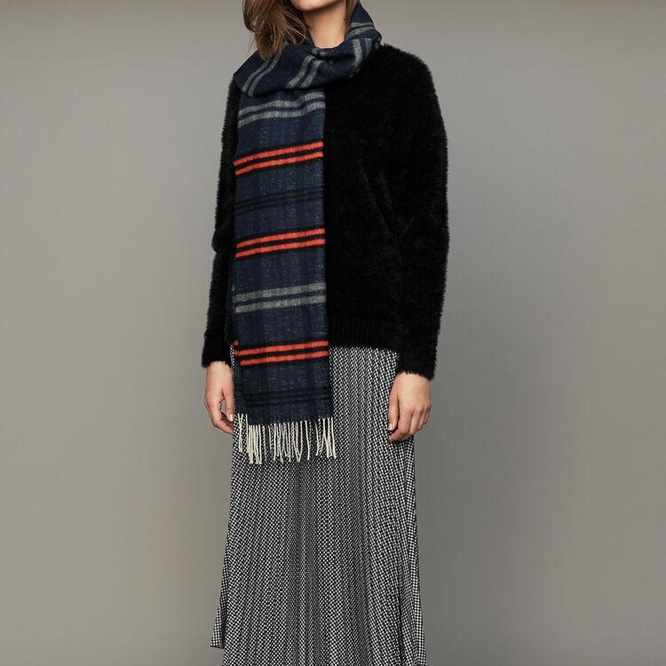 Pullover aus Kunstfell : Strickwaren farbe Schwarz