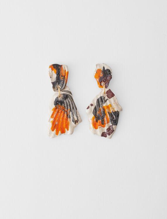Keramik-Ohrringe - Schmuck - MAJE