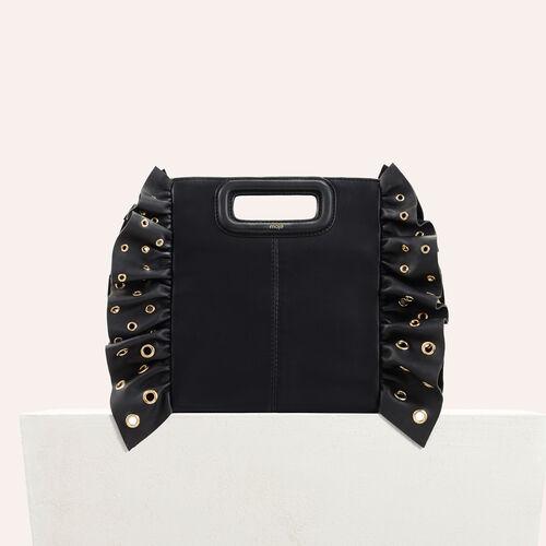 M Tasche mit Rüschen : null farbe Schwarz