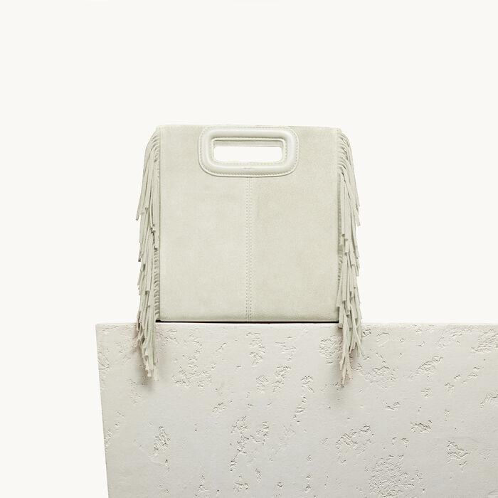 M Tasche aus Veloursleder -  - MAJE