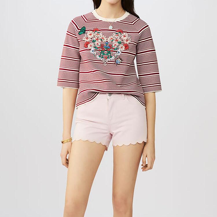 Denim short : Röcke & Shorts farbe Rosa