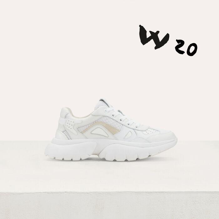 W20 Ledersneaker : Jumpshort & Jumpsuit farbe Weiss