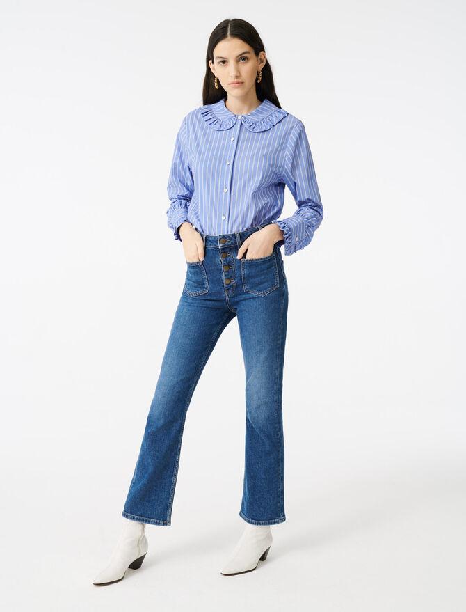 Jeans mit Taschen - Hosen & Jeans - MAJE