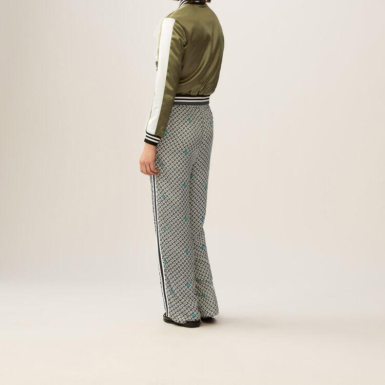 Fließende bedruckte Hose : Hosen farbe IMPRIME