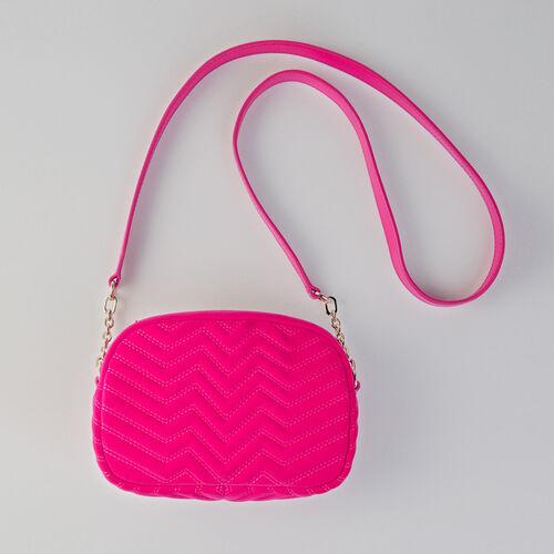 Umhängetasche aus Velour : Sami bag farbe ROUGE