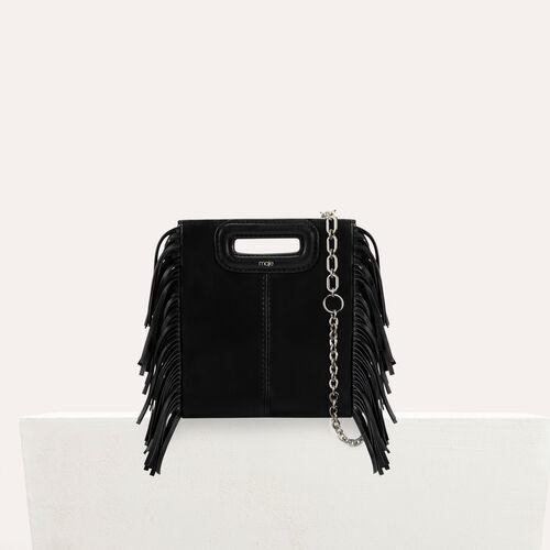 M Mini Tasche aus leder : M Mini farbe Schwarz