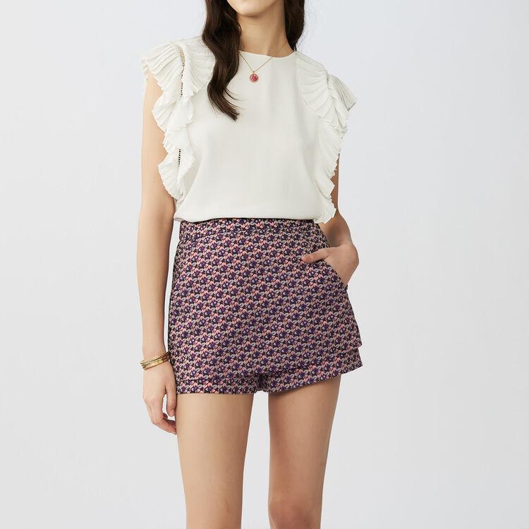 Jacquard-Short-Rock : Röcke & Shorts farbe Jacquard