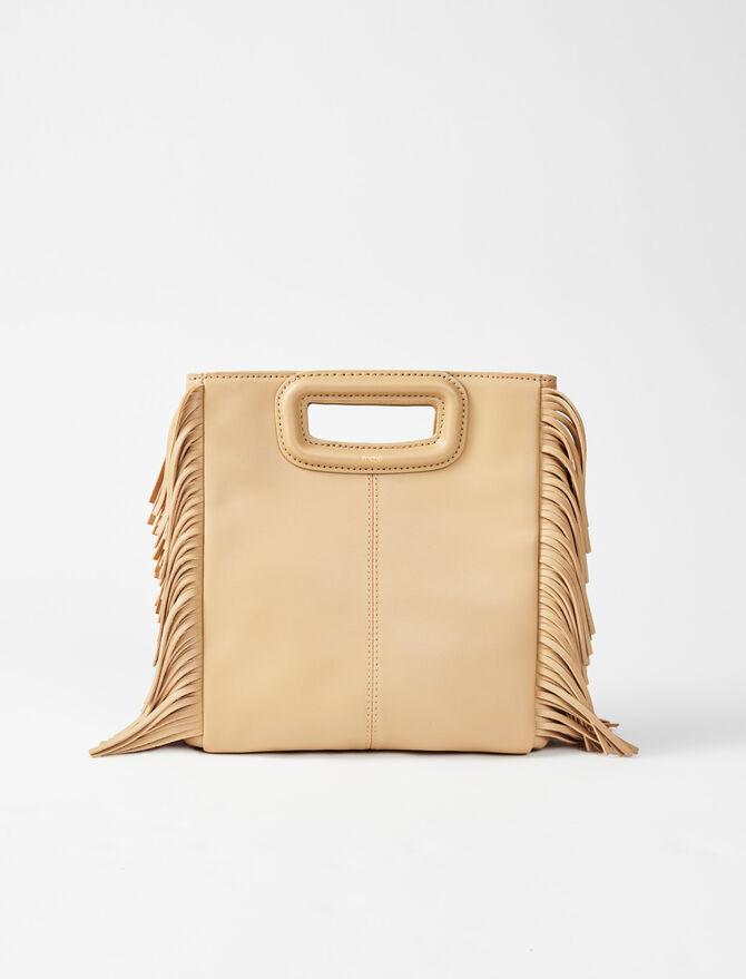 M Tasche aus Leder - M Tasche - MAJE