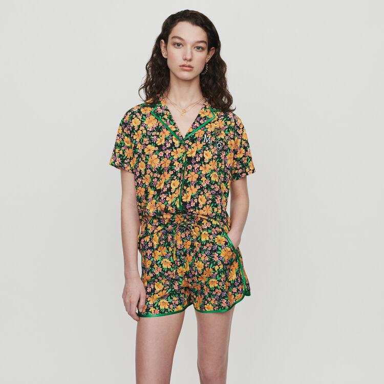 Hemd im Pyjama Look mit Print : Tops & Hemden farbe Print
