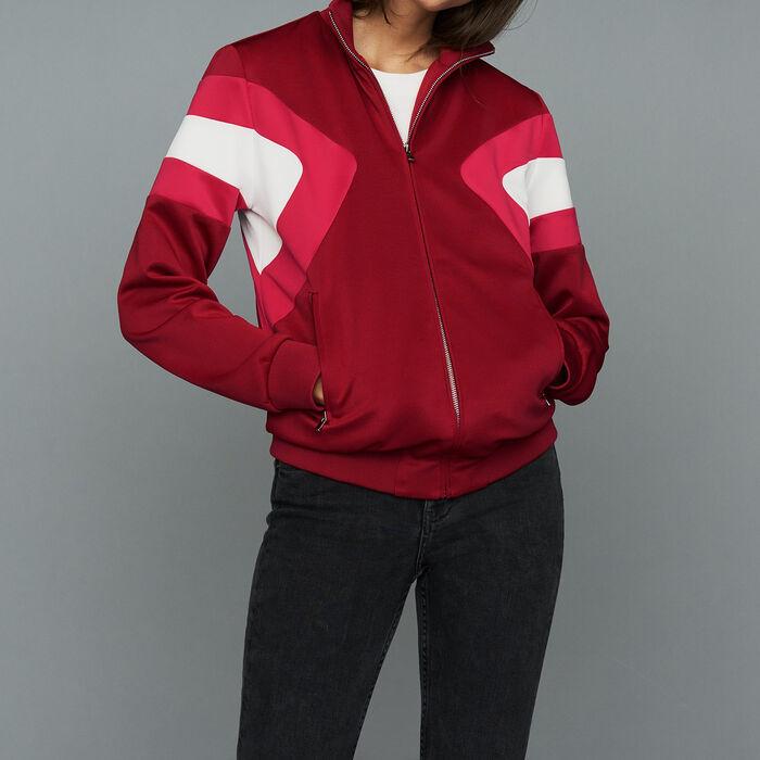 Sportjacke : Blazers farbe Himbeerrot