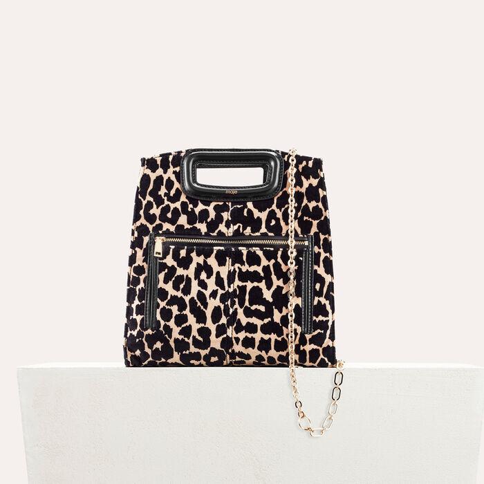 Bolso con estampado de leopardo : Mi-Saison farbe IMPRIME