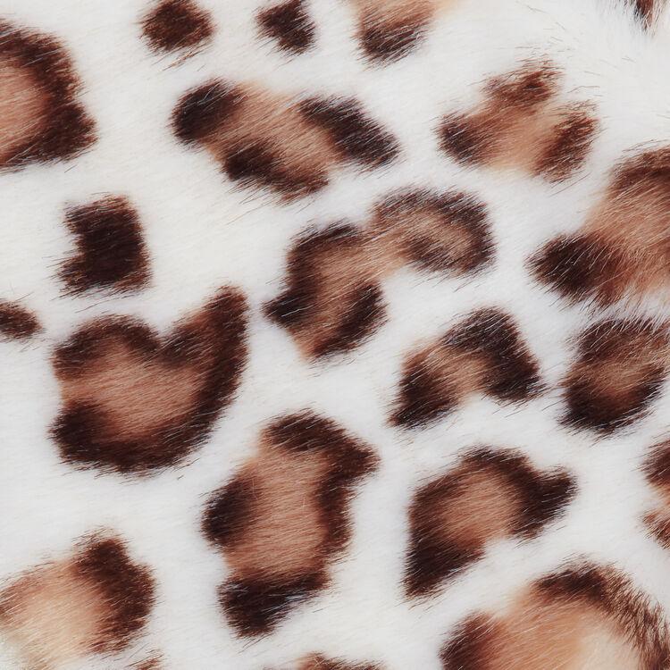 Kragenschal aus Kunstfell : Schals & Ponchos farbe Mehrfarbigen