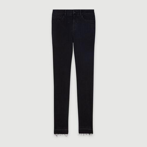 Basic Slim Jeans : Hosen & Jeans farbe Anthrazit