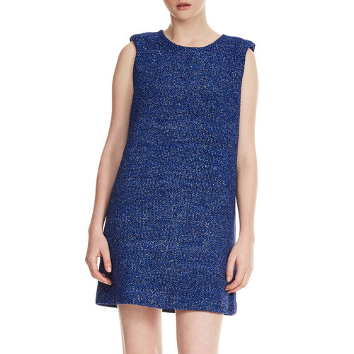 Sleeveless dress : Kleider farbe Marineblau