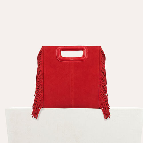 M-Tasche aus Wildleder : Neue Kollektion farbe Blau