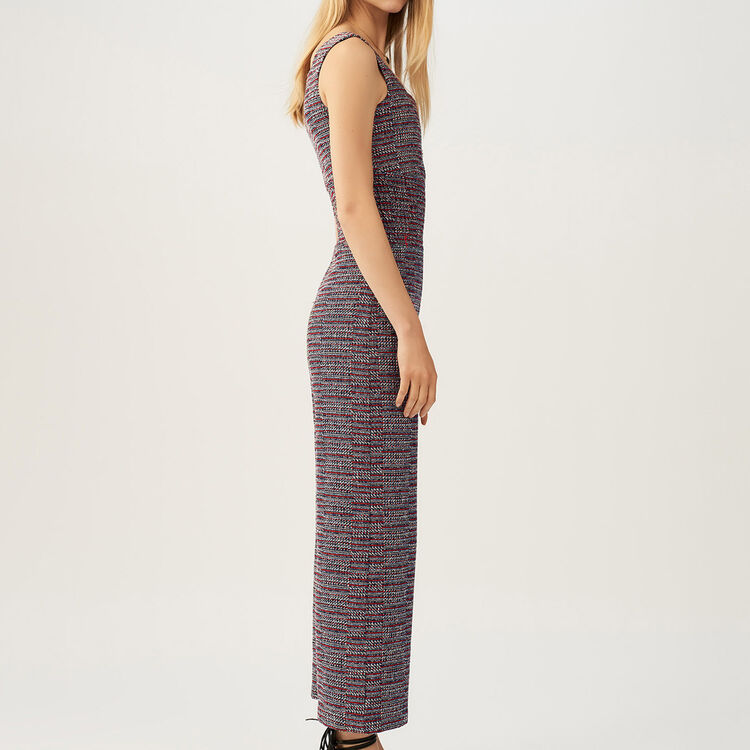 Overall aus Tweed : Hosen farbe Jacquard