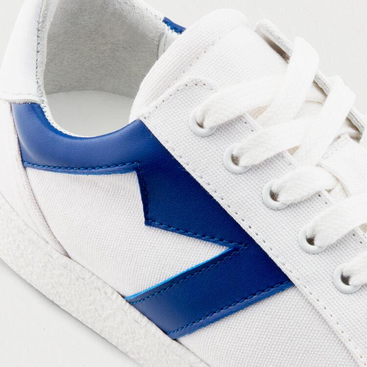 Ledersneakers M-Ausschnitt : Sneakers farbe Blau