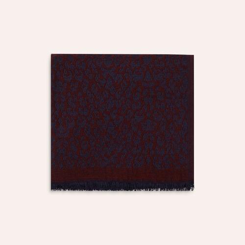 Schal mit Leopardendruck : Schals & Rundschals farbe Hellrosa