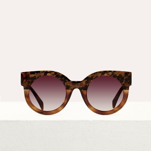 """Sonnenbrille in """"Cat Eye""""-Form : Brillen farbe ECAILLE"""