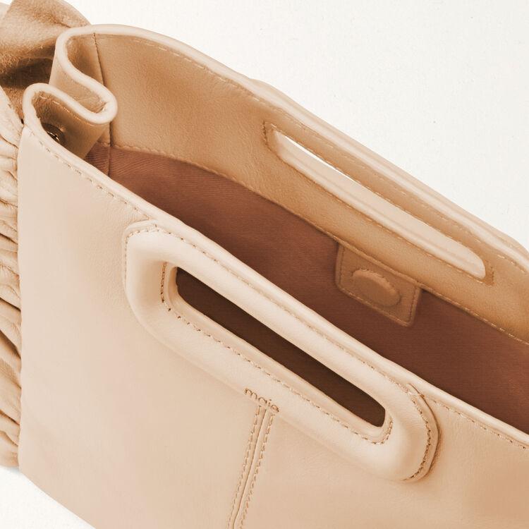 M Tasche mit Rüschen : M Tasche farbe Fleisch