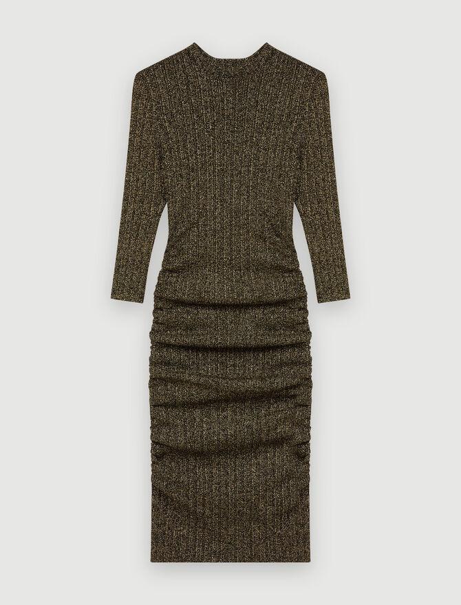 Kurzes Kleid aus Lurex - Alles sehen - MAJE