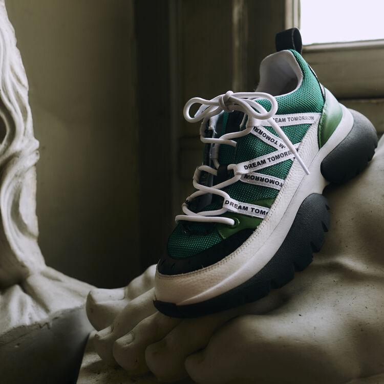 W20 Urban Sneakers aus Nylon : Alles einsehen farbe Grün