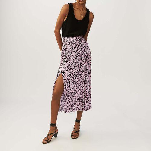 Langer Faltenrock : Röcke & Shorts farbe IMPRIME