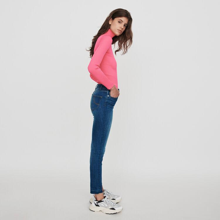 Basic Slim Jeans : Hosen & Jeans farbe Blau