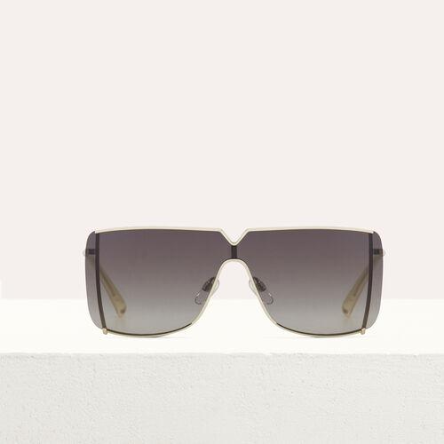"""Sonnenbrille """"Masque"""" aus Metall : Brillen farbe Mehrfarbigen"""