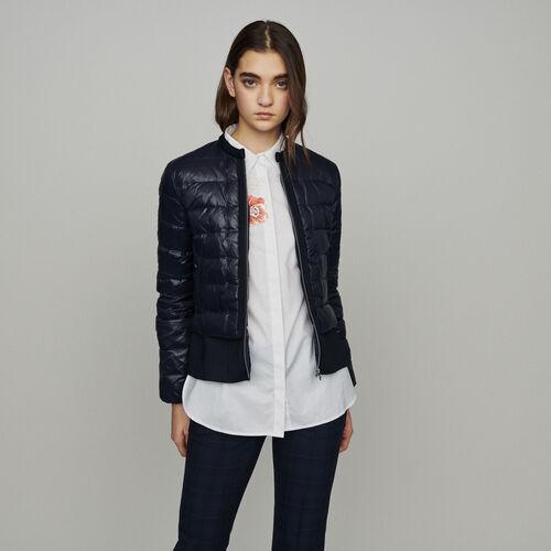 Leichte Daunenjacke : Mäntel & Jacken farbe Marineblau