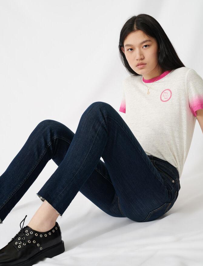 Slim-Jeans mit hohem Bund - Hosen & Jeans - MAJE