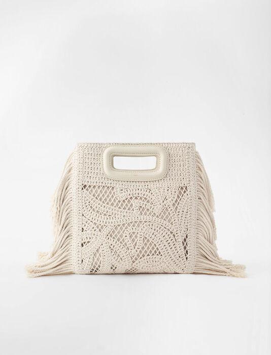 Makramee M Tasche : Alle Taschen farbe  Off-White